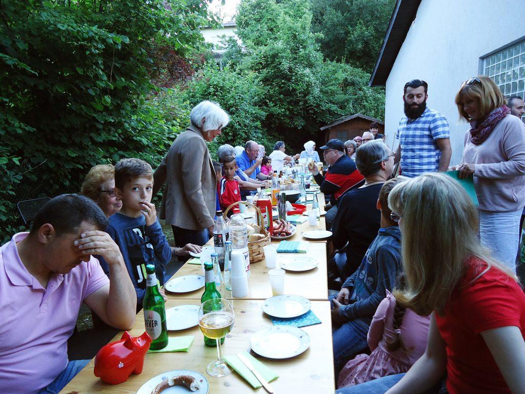 Sommerfest der Flüchtlingshilfe